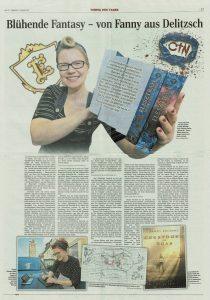 Delitzscher Zeitung interviewt Fanny Bechert