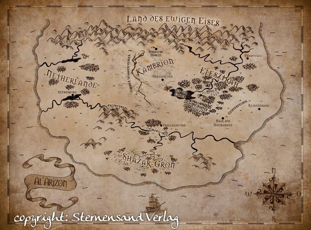 """Landkarte zu """"Elesztrah"""""""