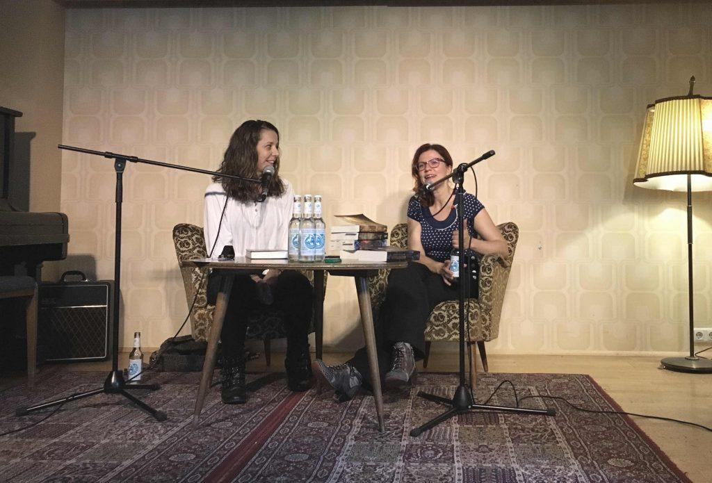 Fanny Bechert und Nicole Böhm zur Lesung in Köln