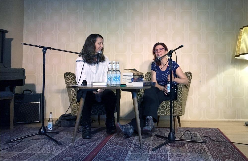 Lesung von Fanny Bechert und Nicole Böhm