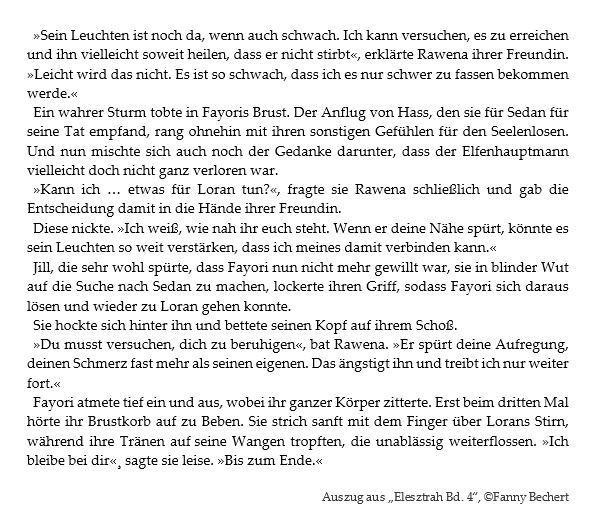 Auszug aus Elesztrah Band 4