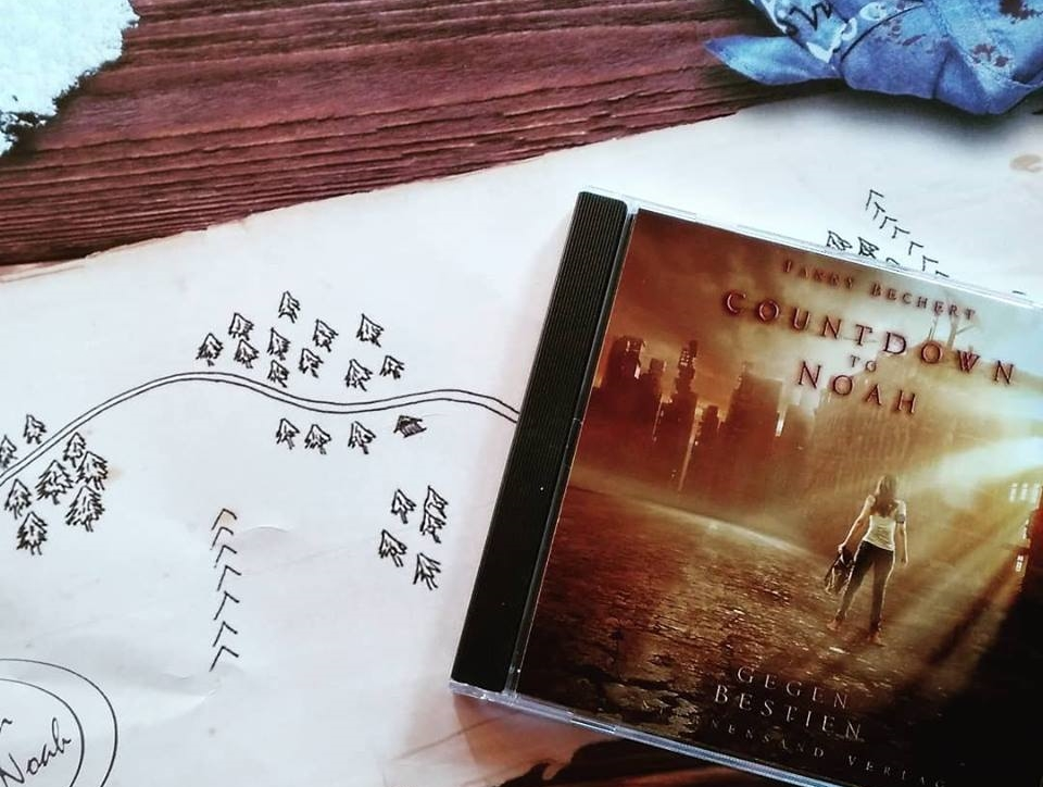 "Hörbuch ""Countdown to Noah"" als CD"